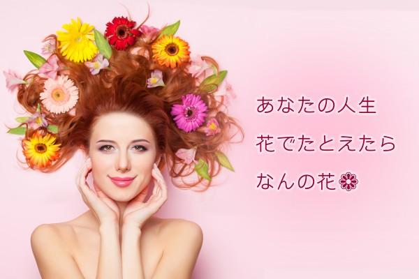 人生、ひと花咲かせてみせましょうか… 人生x花診断