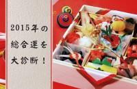 謹賀新年!2015年の総合運を大診断!