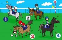 <イラスト4択>もし自分が競走馬になったら?