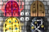 【イラスト4択】あなたの行く手にある扉は、どんな形?