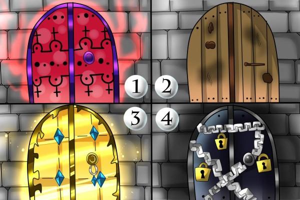 イラスト4択あなたの行く手にある扉はどんな形 Mirrorzミラーズ