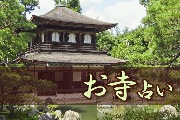 歴史の由緒ある法隆寺とか清水寺とか、厳かで神聖で、美しい。日本のお寺って、素晴らしい!「お寺占い」