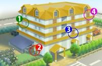 【画像性格占い】マンションの部屋。好みの階数や位置で、個性を診断します「あなたの理想のお部屋は?」