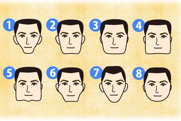 【人相学占い・顔相学占い】あなたの顔の輪郭でわかる!あなたの性格と相性の良い輪郭タイプ診断