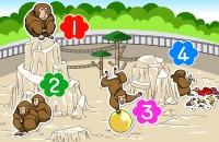 【イラスト性格診断】動物園のサル山に居るあなたの性格を、診断します「あなたがサルに生まれていたら?」