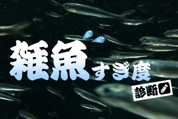 大物どころか…「雑魚すぎ度診断」