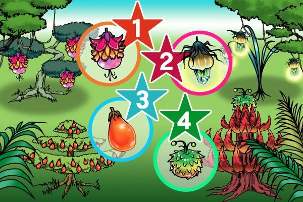 【イラスト性格占い】「幸運の果物はどれ?」
