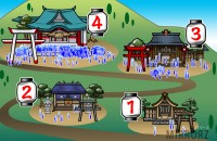 【イラスト性格診断】あなたが一番行きたい初詣の神社は?