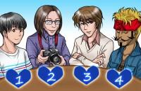 【イラスト性格診断】オフ会で初対面、あなたの相手はだれ?(女性用)